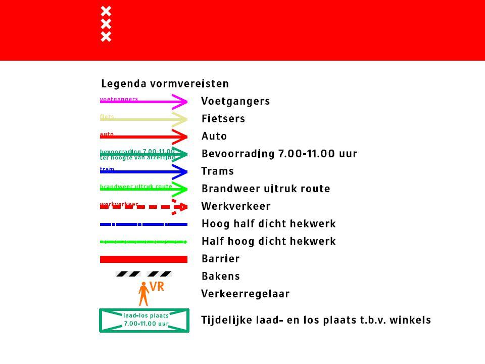 Amstel Rokin Singel Bloemenmarkt Vijzel Reg.bree Fase 1: 7/9-5/10 (4 weken)