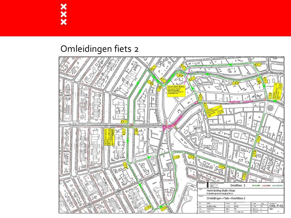 BLVC : bereikbaarheid (openbaar vervoer) Tram:  Tijdens spoorwerk Munt blijven de trams rijden  Weekendafsluiting: geen tramverkeer (3 dagen) Nachtbus:  vanaf 5/10 worden de bussen omgeleid:  via Amstel (halte bij Bakkerstraat) naar het Rokin > CS  Via Singel naar Vijzelstraat (halte bij Bloemenmarkt)  De haltes zijn ook bedoeld voor het uitgaanspubliek Rembrandtplein