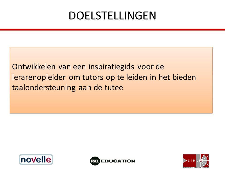 VOORBEREIDING 2 belangrijke uitgangspunten – Taalbeleid (schoolniveau) – Taalontwikkelend lesgeven (leerkrachtniveau) Taalbeleid: ' Taalbeleid is de structurele en strategische poging van een schoolteam om de onderwijspraktijk aan te passen aan de taalleerbehoeften van de leerlingen/ studenten met het oog op het bevorderen van hun algehele ontwikkeling en het verbeteren van hun onderwijsresultaten.' (Kris Van den Branden, 2004).