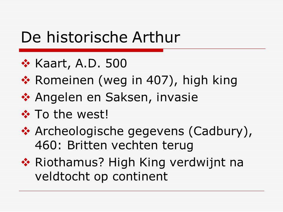 De historische Arthur  Kaart, A.D.