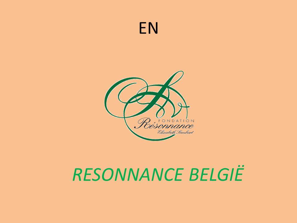 EN RESONNANCE BELGIË