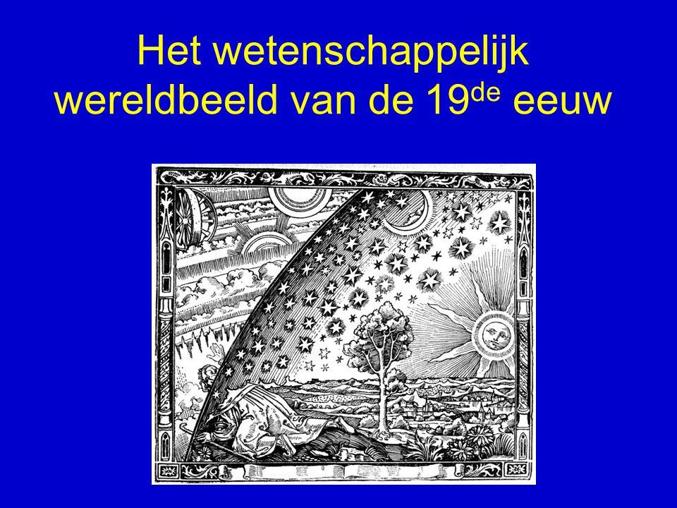 Wetenschap en maatschappij Natuurwetenschap ontwikkelt zich in nauwe samenhang met maatschappij Veranderingen in wetenschappelijke opvattingen tot op zekere hoogte weerspiegeling van maatschappelijke veranderingen Geldtook voor wetenschappelijk wereldbeeld van de negentiende eeuw