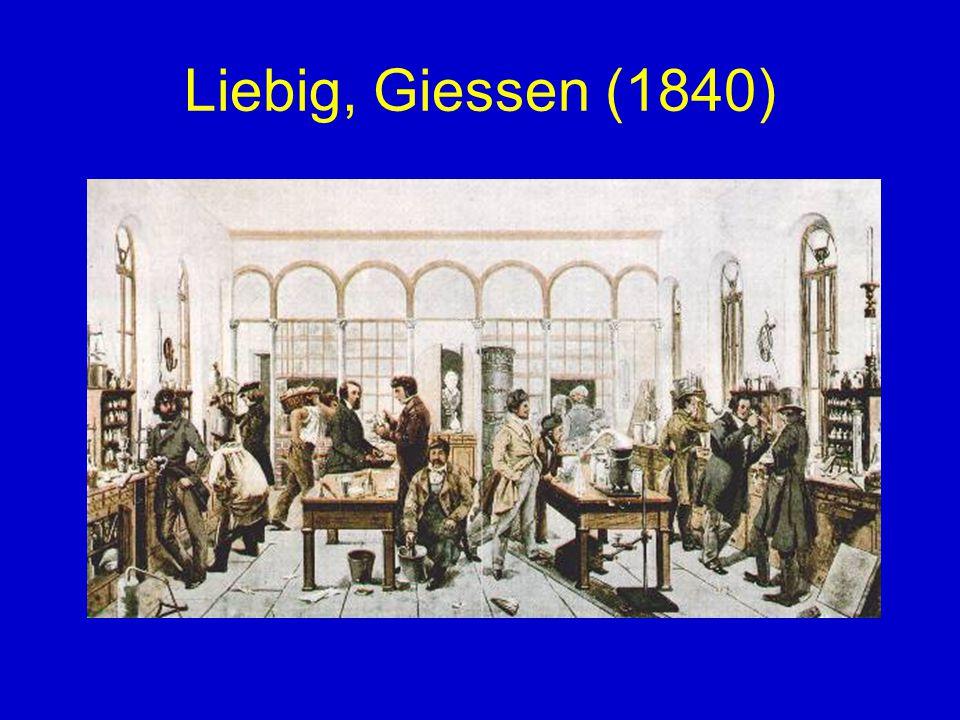 Liebig, Giessen (1840)