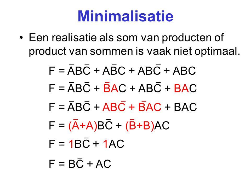 Minimale realisatie AC ABC BC F A C F B