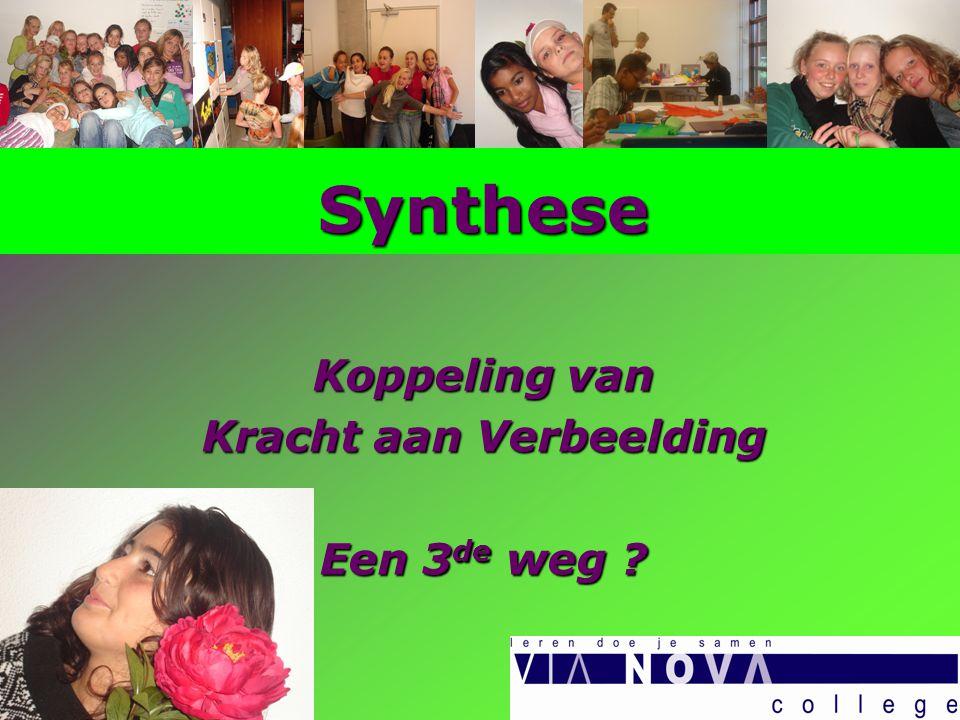 Synthese Koppeling van Kracht aan Verbeelding Een 3 de weg ?