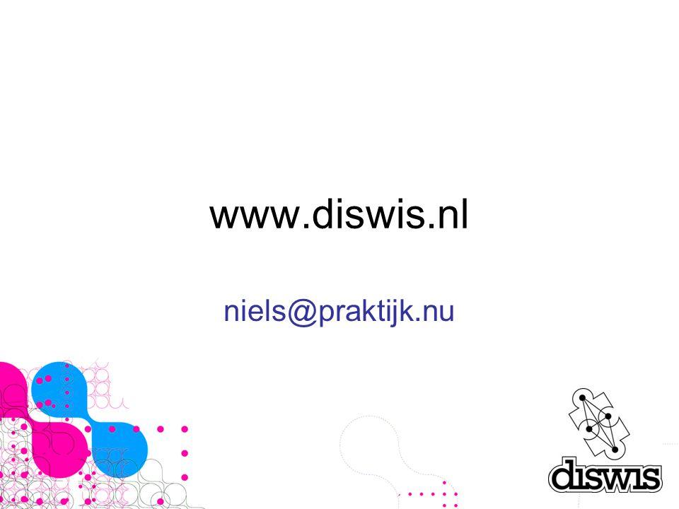 www.diswis.nl niels@praktijk.nu