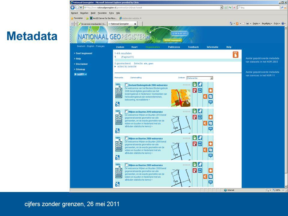 cijfers zonder grenzen, 26 mei 2011 Metadata