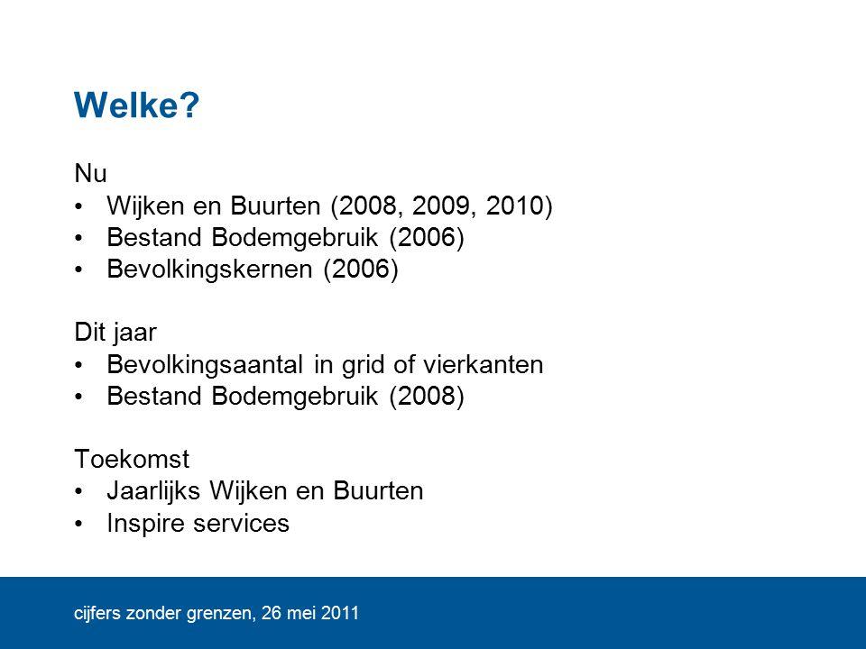 cijfers zonder grenzen, 26 mei 2011 Welke.