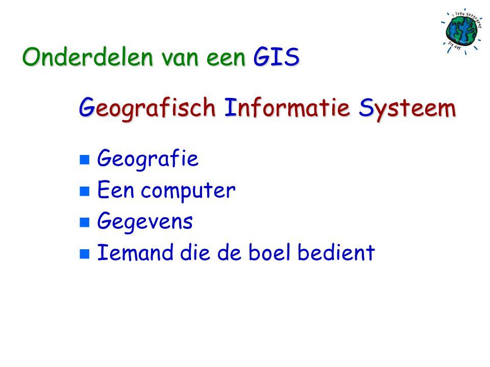 Wereld GIS Dag 2005 Geografie & Technologie