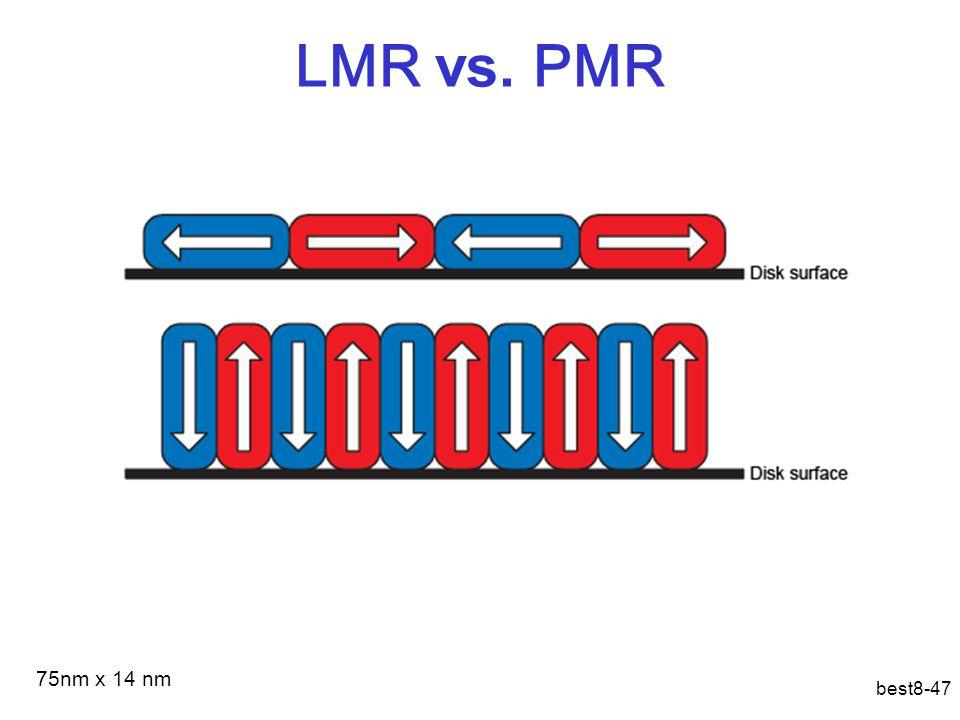 LMR vs. PMR best8-47 75nm x 14 nm