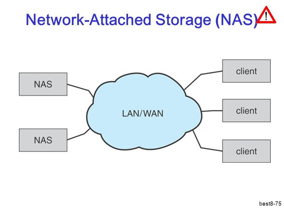best8-75 Network-Attached Storage ( NAS )
