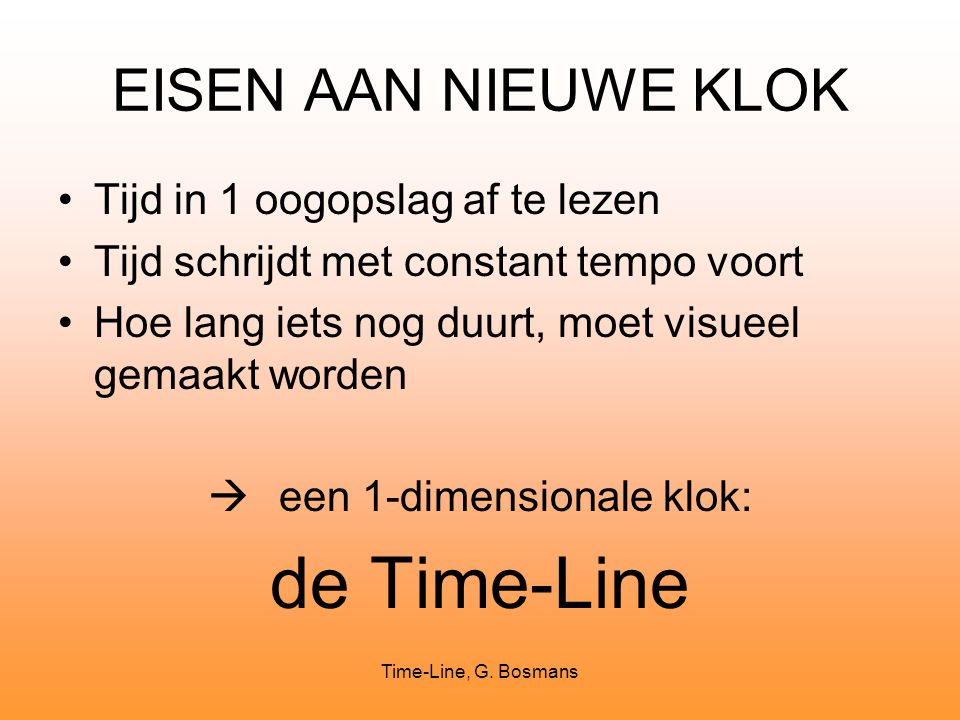 Time-Line, G.