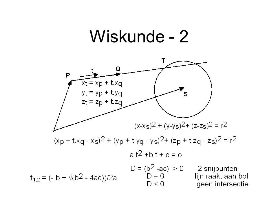 Wiskunde - 2