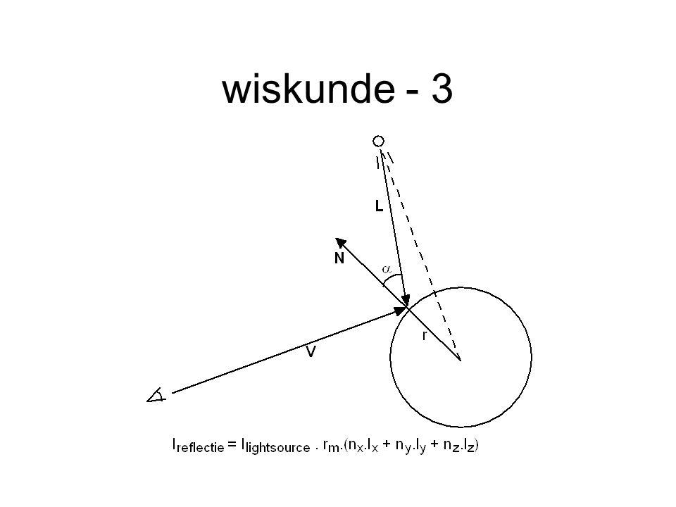 wiskunde - 3