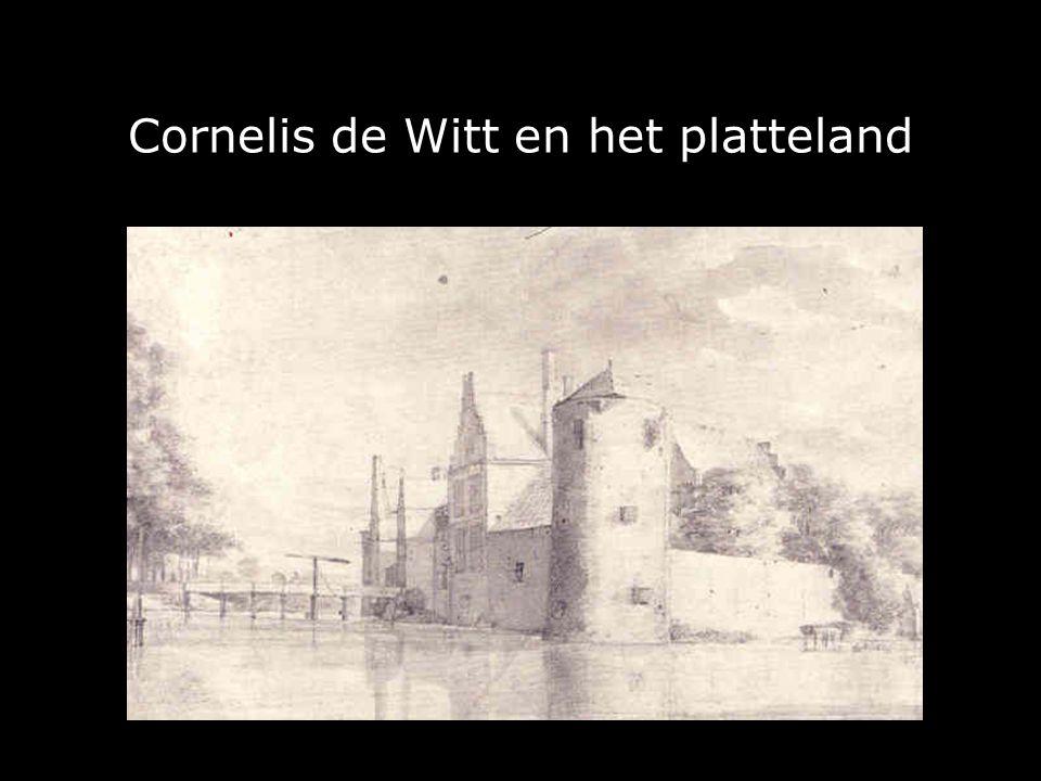Cornelis de Witt en het platteland
