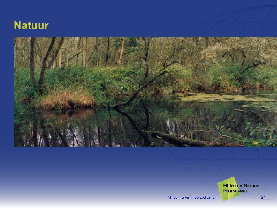 Milieu: nu en in de toekomst27 Natuur