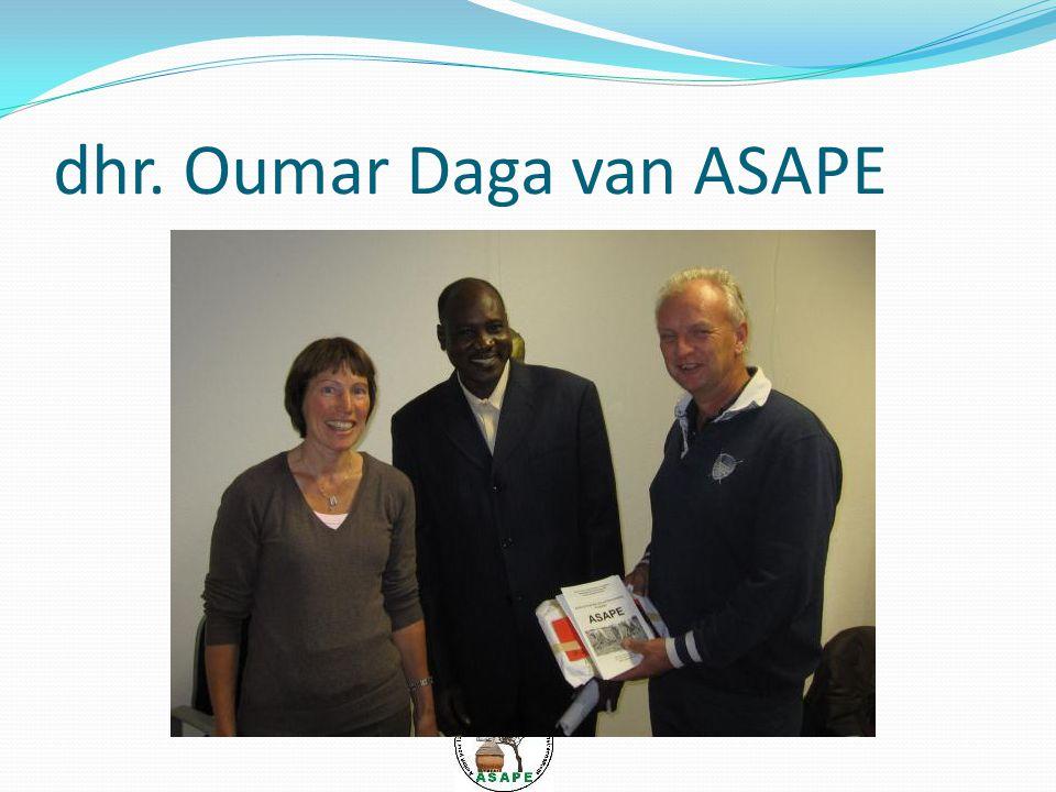 dhr. Oumar Daga van ASAPE