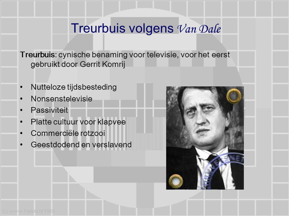 Treurbuis volgens Van Dale Treurbuis: cynische benaming voor televisie, voor het eerst gebruikt door Gerrit Komrij Nutteloze tijdsbesteding Nonsenstel