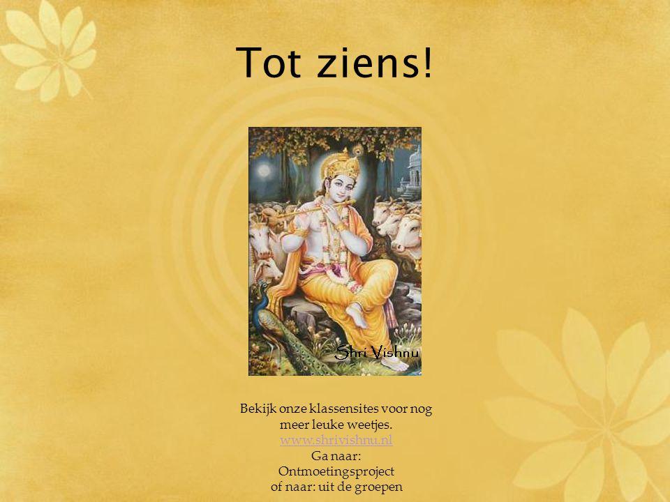 Duinoord aur Shri Vishnu ke milan met 6C Juf Shakoentela Juf Regina