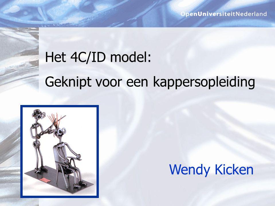 Wendy Kicken Het 4C/ID model: Geknipt voor een kappersopleiding