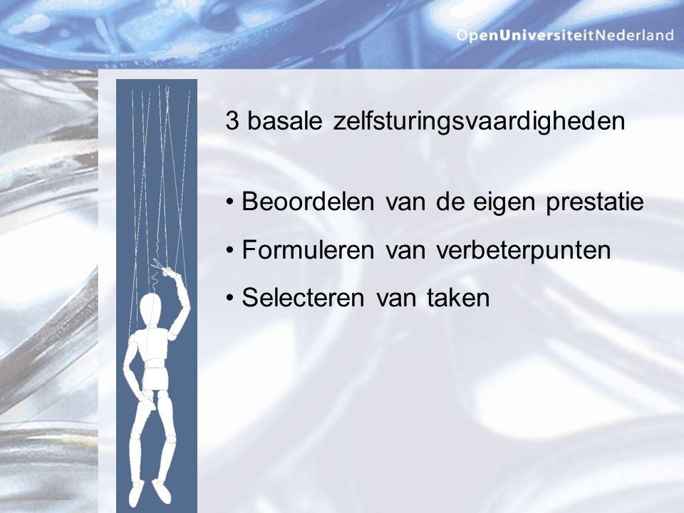 3 hulpmiddelen Gemetadateerde takenbak Gestructureerd ontwikkelingsportfolio Portfolio-adviesgesprekken