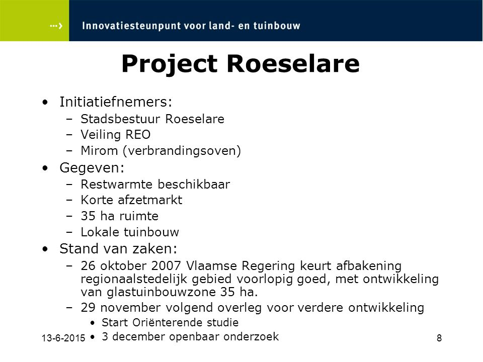 13-6-20159 Project Roeselare
