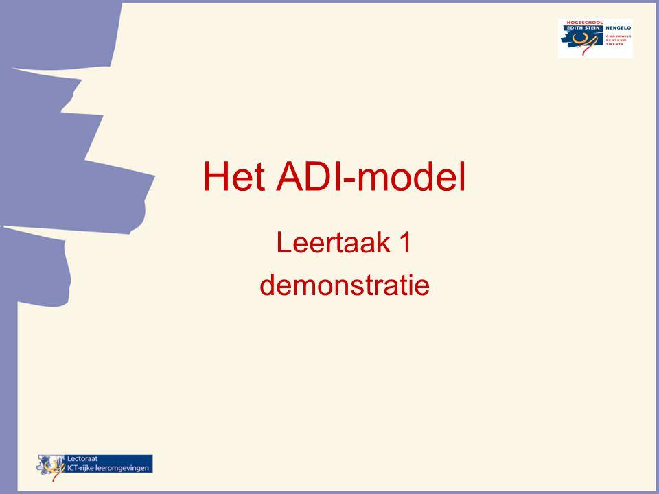 Gehele taak Taakklasse 1 Voorbereiden verhalend ontwerpen Taakklasse 2 Pedagogische/ Didact.