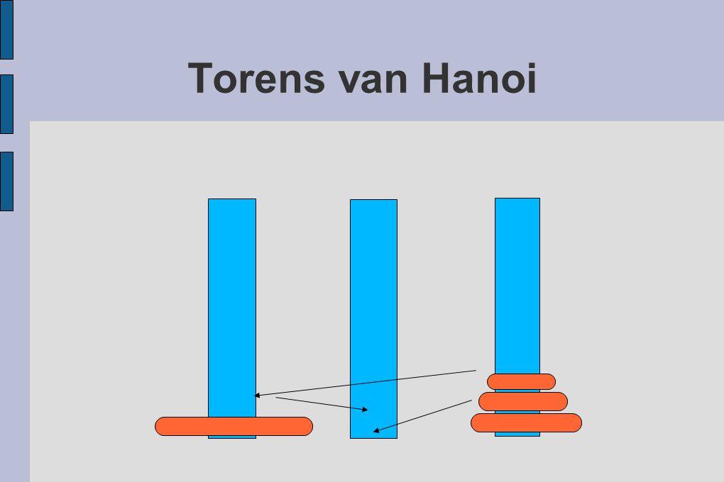 Torens van Hanoi