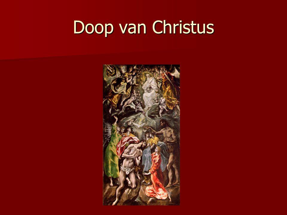 Doop van Christus