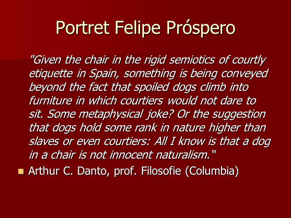 Portret Felipe Próspero