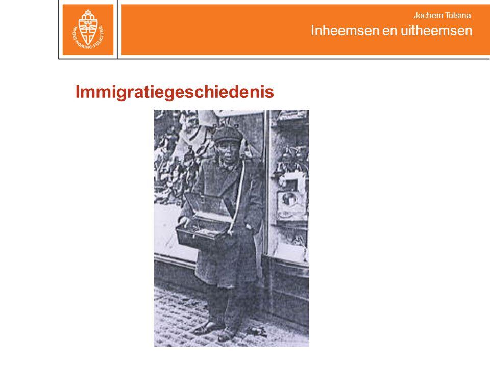 Immigratiegeschiedenis Inheemsen en uitheemsen Jochem Tolsma
