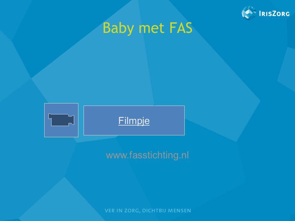 Baby met FAS Filmpje www.fasstichting.nl