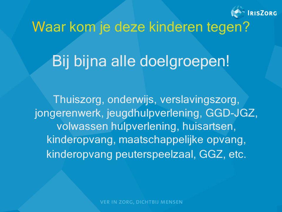 Vraag  Ongeveer hoeveel kinderen hebben ouders met alcohol en/of drugsproblematiek in Gelderland.