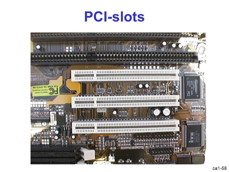 ca1-58 PCI-slots