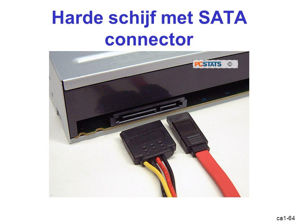 Harde schijf met SATA connector ca1-64