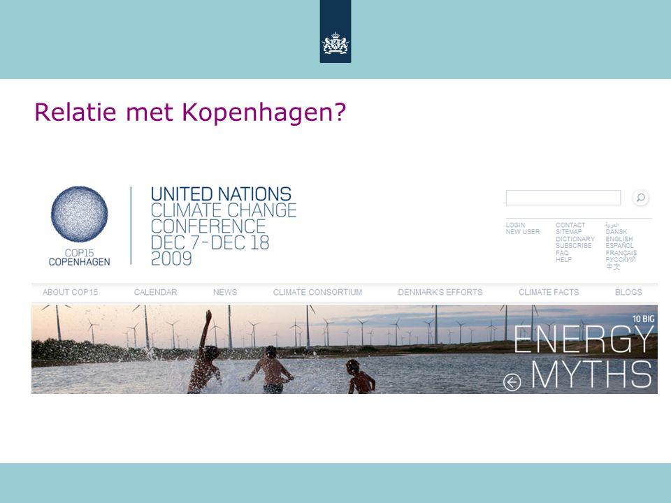 Relatie met Kopenhagen?