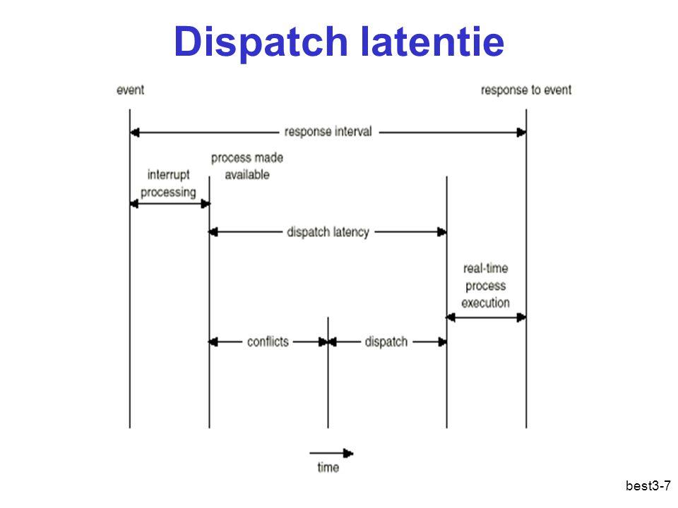 best3-7 Dispatch latentie