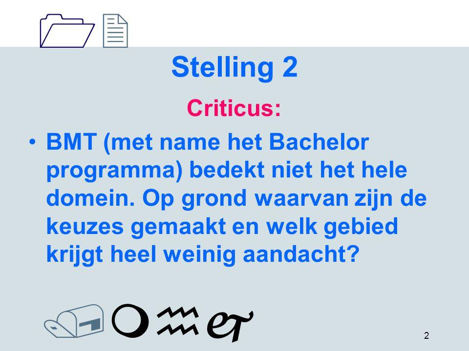 1212 /mhj 3 Stelling 3 Onderwijskundige: Is de kwaliteitszorg effectief.
