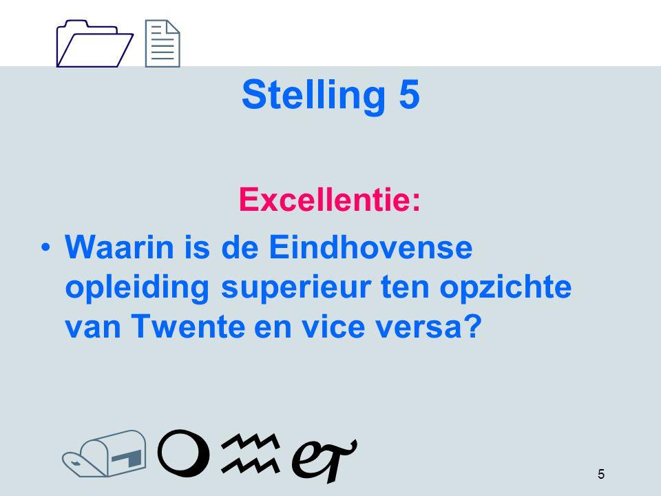 1212 /mhj 6 Stelling 6 Limbo: Hoe ziet de faculteit in de toekomst de deelname van docenten uit Maastricht in de bachelorfase?