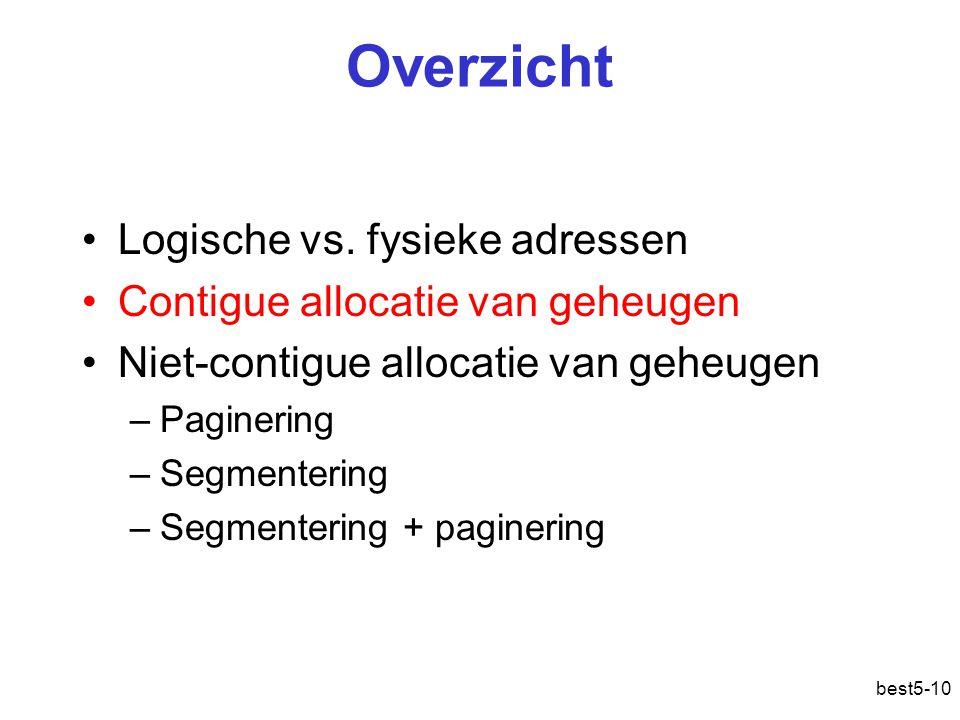 best5-10 Overzicht Logische vs.