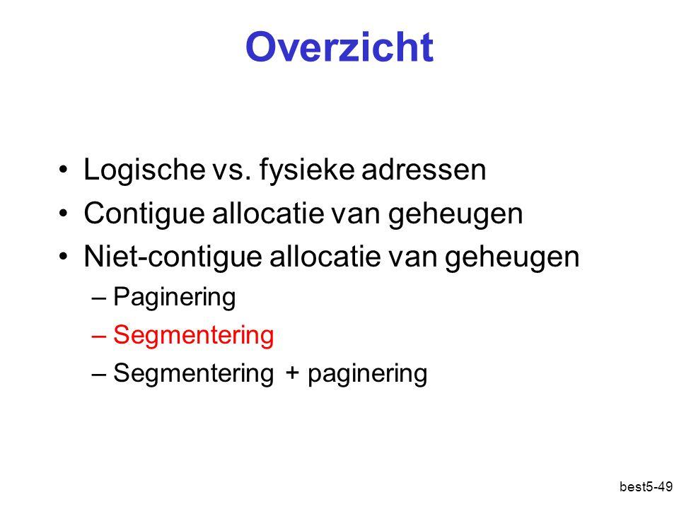 best5-49 Overzicht Logische vs.
