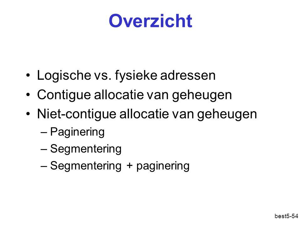 best5-54 Overzicht Logische vs.