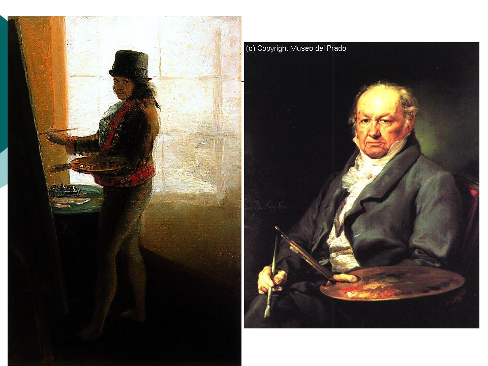 Decoratie 'Quinta del Sordo'  Verwarrende en intense beelden  14 werken  Pinturas negras