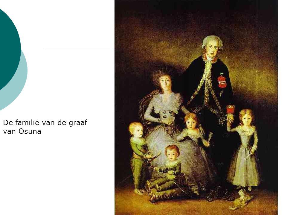 De familie van de graaf van Osuna