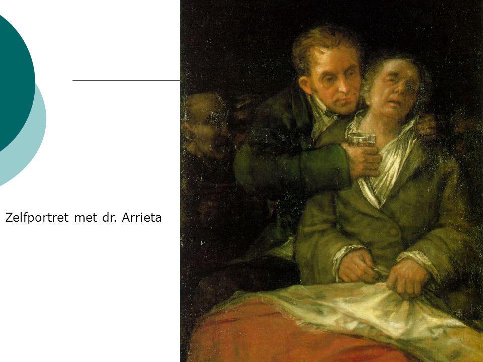 Zelfportret met dr. Arrieta