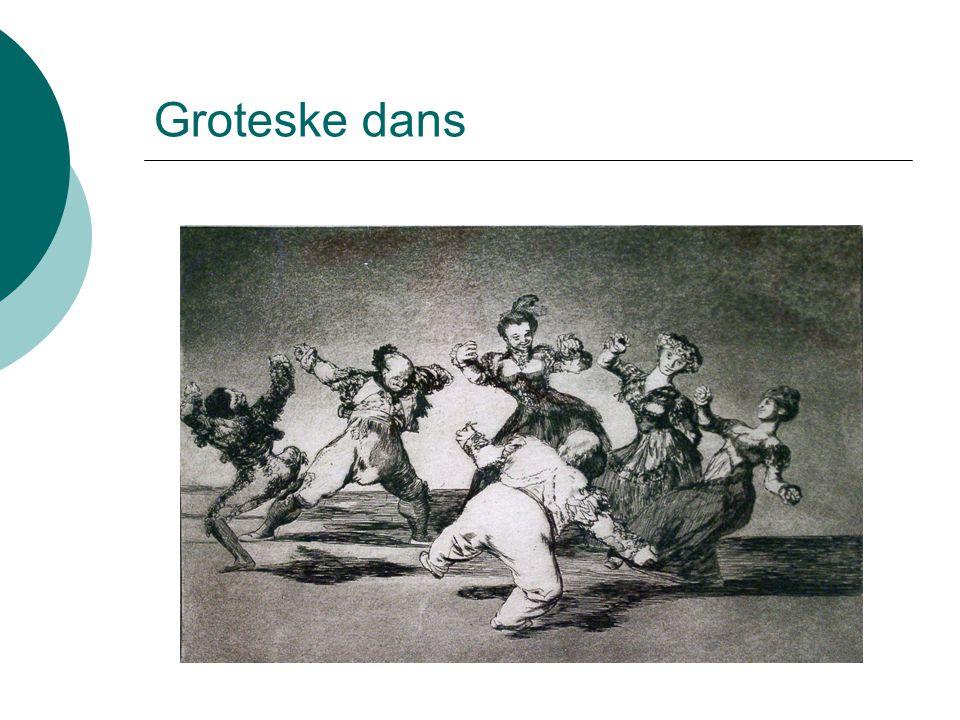 Groteske dans