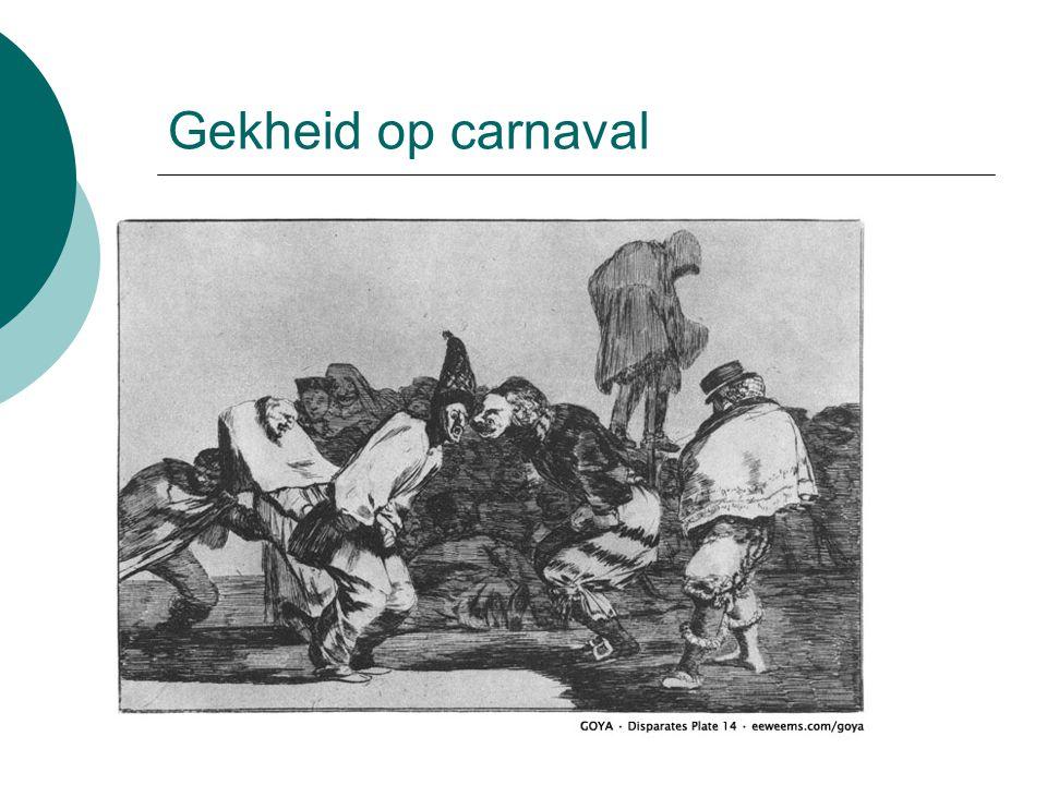Gekheid op carnaval