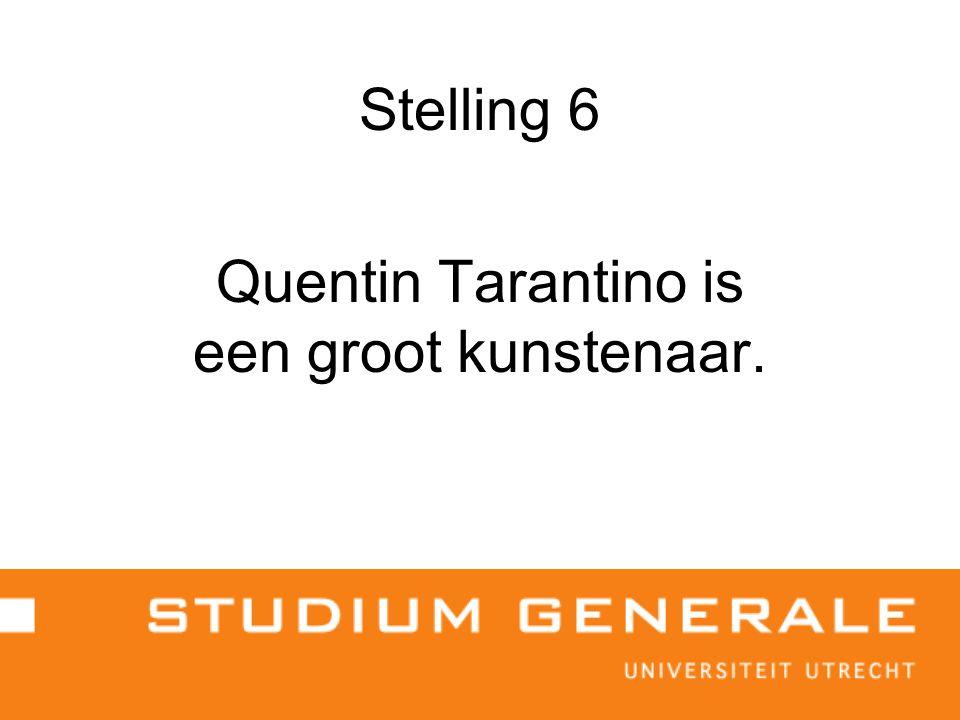 Stelling 7 Van den Ende vervaardigt hoogwaardige cultuur.