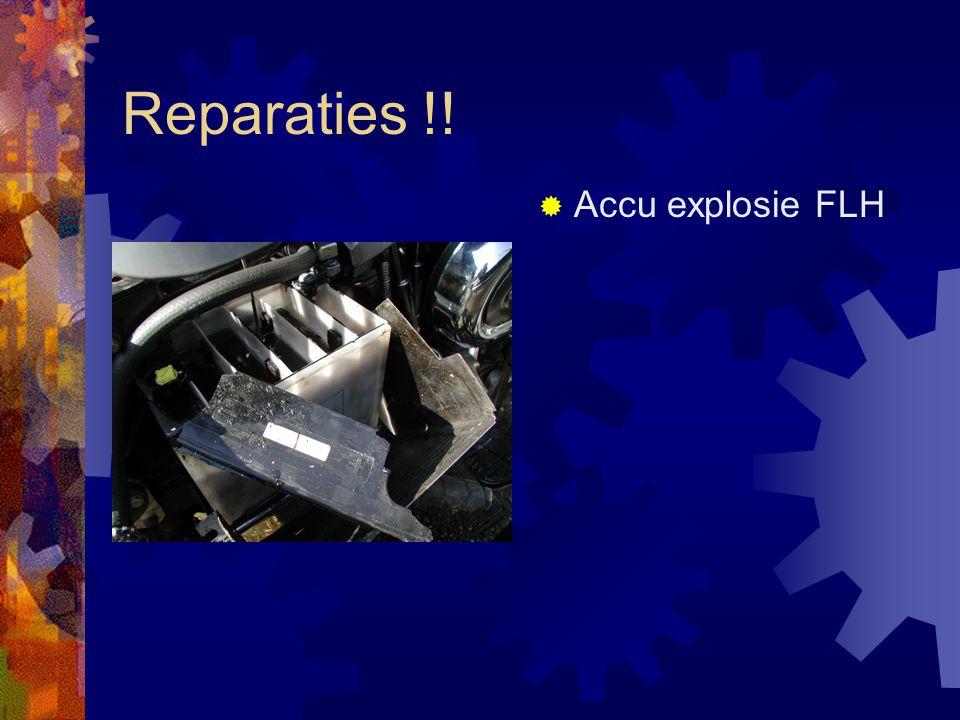 Reparaties !!  Lekke koppakking FLH