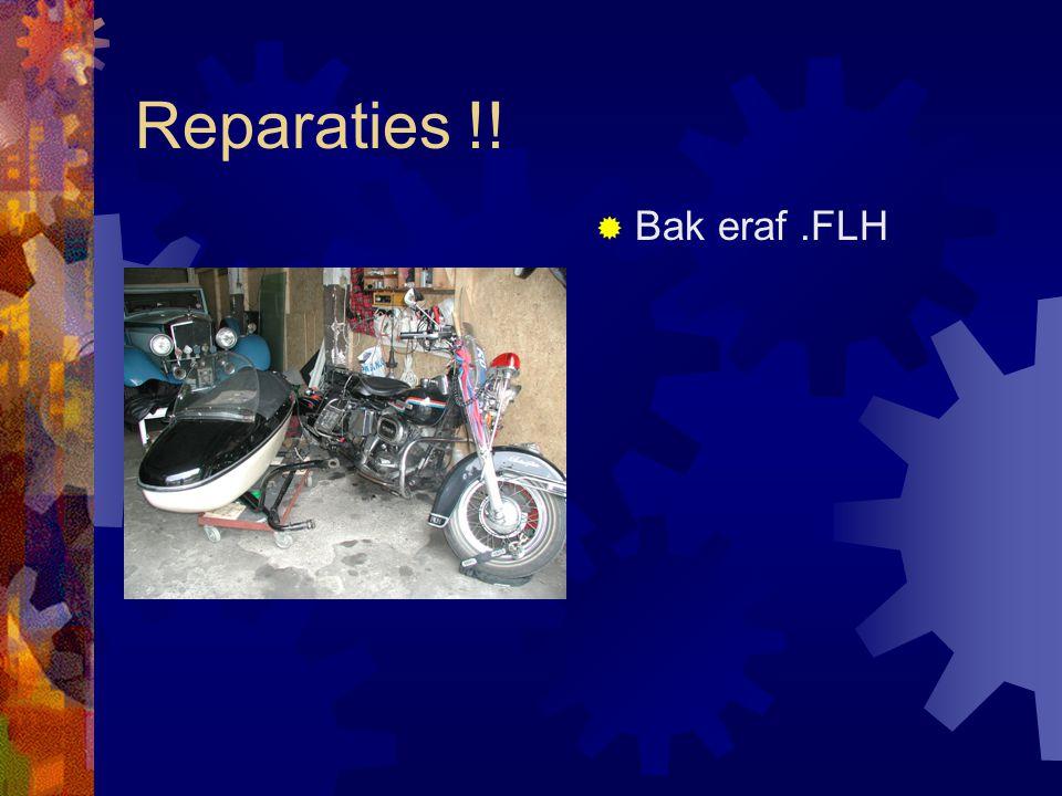 Reparaties !!  Koppeling ontvetten  FLH
